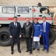 Также Михаил Ратманов посетил поликлинику, где ознакомился с работой передвижного рентген аппарата, которого ранее в учреждении не было.