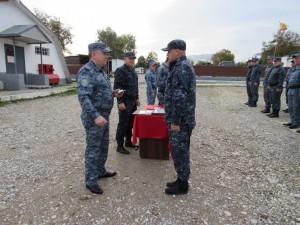 Руководство областного главка регулярно посещает правоохранителей по месту дислокации.