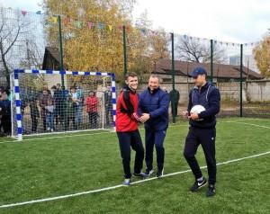 В торжественном мероприятии принял участие Александр Фетисов, ветераны и игроки ФК
