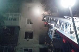 Ночью в Тольятти горел балкон дома Общая площадь возгорания составила 20 квадратных метров.