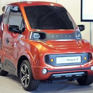«Зетта» обещает наладить запуск серийного производства «бестрансмиссионного электромобиля на асинхронных мотор-колесах приводной системой 4×4».
