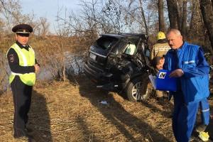 По предварительным данным МВД, мэр Абакана не справился с управлением, съехал в кювет и затем врезался в дерево.