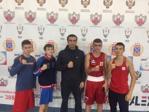 С 5 по 11 октября в Чебоксарах прошло первенства Центрального Совета физкультурно-спортивного общества Профсоюзов «Россия» среди юношей 14-15 лет