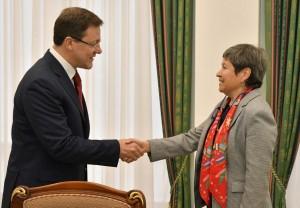 Дмитрий Азаров выразил надежду на то, что Дни культуры Мексики в Самарской области создадут прочную основу для дальнейшего взаимодействия.