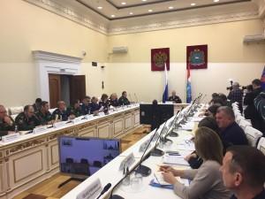 Участники заседания познакомились с опытом работы Волжского войскового казачьего общества.