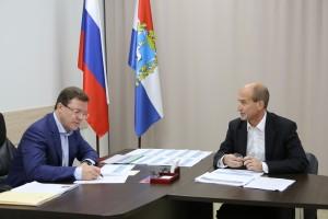 Также на встрече был поднят вопрос о реконструкции участка дороги Кинель-Богатое.