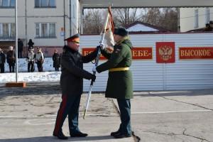 Торжественное мероприятие прошло в Рощинском гарнизоне на плацу мотострелкового соединения.