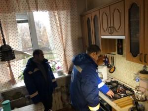 Специалисты провели рейд по самарским многоквартирным домам с целью проверки работы внутридомового газового оборудования.