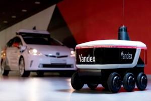 Робот передвигается совершенно самостоятельно, но на этапе испытаний за ним дистанционно присматривает оператор.