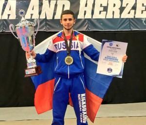 Самарский кикбоксер выиграл чемпионат мира
