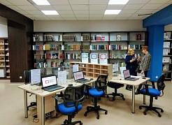 В Библиотеке установлено современное звуковое и световое оборудование, которое позволит проводить мероприятия на качественно новом уровне.