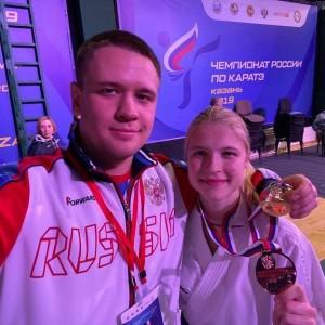 Тольяттинка Анна Чернышева - чемпионка России по каратэ!