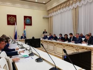 Состоялось очередное заседание Правительства Самарской области под председательством Виктора Кудряшова
