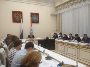 Виктор Кудряшов провел рабочее совещание, на котором обсуждались предложения городского округа Тольятти по подготовке и проведению года Тольятти.