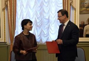 Правительство Самарской области подписало соглашение с одним из ведущих музеев России и мира – московским музеем изобразительных искусств имени Пушкина.