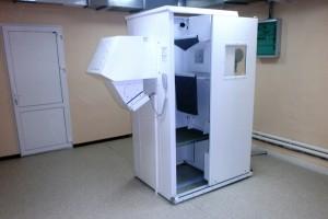 Аппарат предназначен для проведения флюорографического обследования осужденных.
