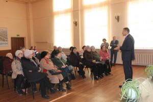 Главный управляющий директор «РКС-Самара» Владимир Бирюков рассказал гостям о работе системы водоотведения и ГОКС, ответил на все вопросы.