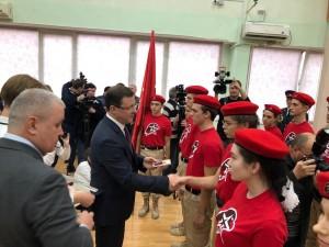 Около 30 тысяч детей Самарской области вступили в «Юнармию» с начала года.