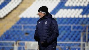 В матче с ЦСКА главный тренер