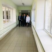 Министр продолжает контролировать реализацию нацпроекта в отдаленных районах области.