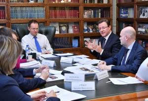 Стороны обсудили ряд вопросов, касающихся промежуточных итогов и дальнейших планов деятельности рабочей группы «Культура», которую Дмитрий Азаров.