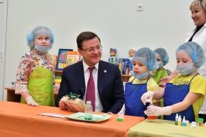 Открытие нового корпуса позволило полностью ликвидировать очередность в детские сады в селе.