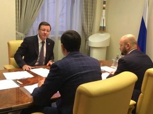 Самарцу Сергею Пичушкину Дмитрий Азаров предложил поучаствовать в разработке проекта по созданию цифровых двойников в сфере строительства.