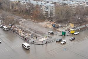 В Самаре перенесут остановки на перекрестке улиц Авроры и Аэродромной