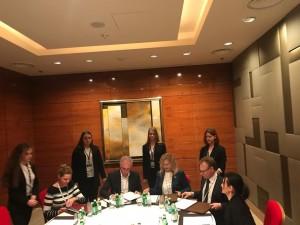 Вчера в рамках конференции «100 шагов к благоприятному инвестиционному климату» было подписано 4-хсторонее соглашение.