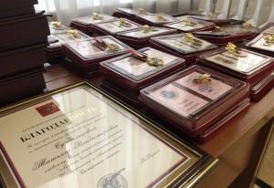 Дмитрий Азаров вручил государственные награды Российской Федерации и Самарской области представителям самых разных профессий