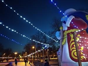 14 декабря состоялось официальное открытие катка в парке Дружбы.  Функционирует пункт проката и заточки коньков, организовано горячее питание.