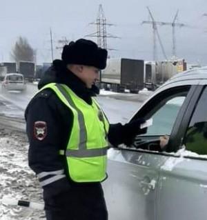Водителя уз Ульяновска задержали в Самарской области с поддельными правами