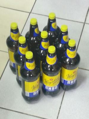 В Сызрани из незаконного оборота изъяли 11 литров пива.