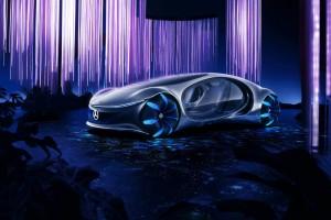 Автомобиль сделан с целью продемонстрировать единство человека, машин и природы.