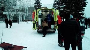 В Тольятти со льда спасатели эвакуировали избитую женщину