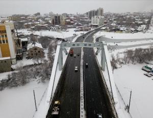 Фрунзенский мост в Самаре: специалисты проведут мониторинг интенсивности движения автомобилей