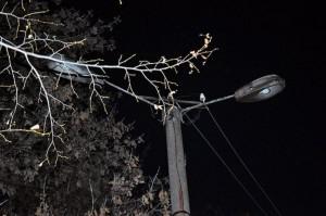 В Самаре за Кировским мостом фонари перестали работать