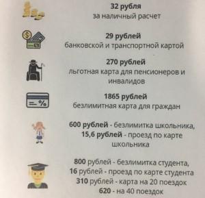 Самарцы срывают в автобусах объявления о повышении стоимости проезда