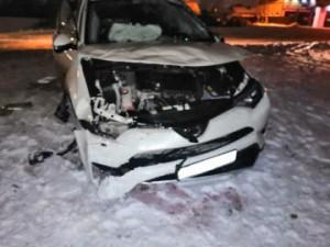 В Сызрани Тойота перевернулась в кювет, пострадали две пассажирки