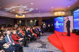 Конкурс–2019 проходил в формате индивидуального соревнования журналистов и был посвящён важнейшей теме сегодняшнего дня – реализации нацпроектов.