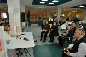 По этому случаю 14 января состоялся «Завтрак в библиотеке».