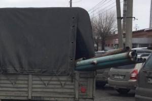 В Сызрани водитель УАЗа ударил женщину трубой