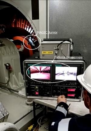 Т Плюс использовал мини-робот MAGIC для обследования газовых турбин нового энергоблока Сызранской ТЭЦ