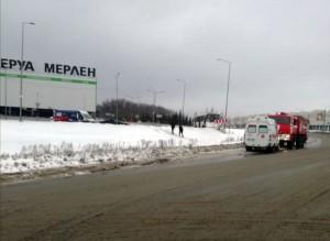 """В Самаре восстановили движение автобусов до """"Меги"""", прерванное из-за гололедицы"""