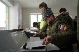 В ходе инспекции генерал-полковник Александр Лапин заслушал командование объединения о выполнении плана деятельности в 2020 года.