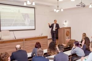 В Поволжском Православном Институте прошла лекция Сбербанка на тему «Учитель будущего».