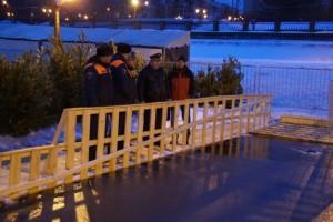 В течении недели проходили осадки в виде дождя и мокрого снега, а также сохранялись плюсовые температуры. Лед на открытых водоемах значительно ослаб.