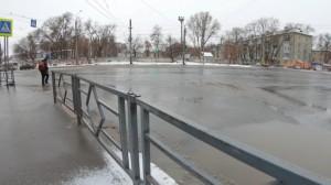 В Самаре снесли рынок на пересечении XXII Партсъезда и Физкультурной  Территорию привели в порядок после сноса.
