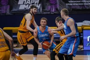Баскетбольная «Самара» добилась очередной победы и вышла в лидеры Суперлиги