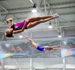 В Тольятти состоялся чемпионат Самарской области по прыжкам на батуте. За медали боролись сильнейшие спортсмены региона.